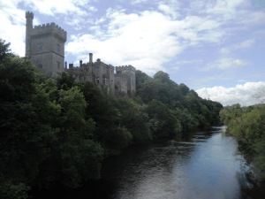 Lismore Castle, towering over the banks of the Blackwater (Photograph: Patrick Comerford, 2012)