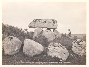 Megalithic tomb, Carrowmore, Co. Sligo by Welch, R © Victoria and Albert Museum, London