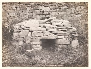 Sweat house, Inishmurry, Co. Sligo by Welch, R, 1897 © Victoria and Albert Museum, London