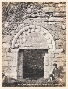 South door, St Fechin's Church, Ballysadare, Co Sligo by Welch R, 1900 © Victoria and Albert Museum, London