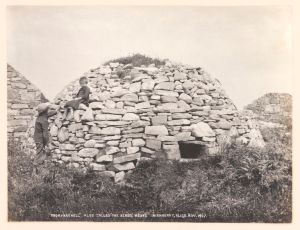 Early Christian Clochán, Inishmurry Island, Co. Sligo by Welch, R, 1897 © Victoria and Albert Museum, London