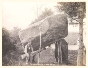 Gowards Portal Tomb, Co. Down by Welch, R, 1898 © Victoria and Albert Museum, London