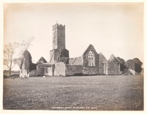 Kilconnell Abbey, Co. Galway by Welch R, 1908 © Victoria and Albert Museum, London
