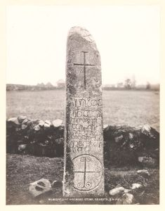 Kilnasaggart cross slab, Co Armagh by Welch, R, 1897 © Victoria and Albert Museum, London