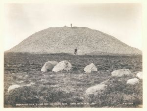 Knocknarea tomb, Co. Sligo by Welch R, 1898 © Victoria and Albert Museum, London