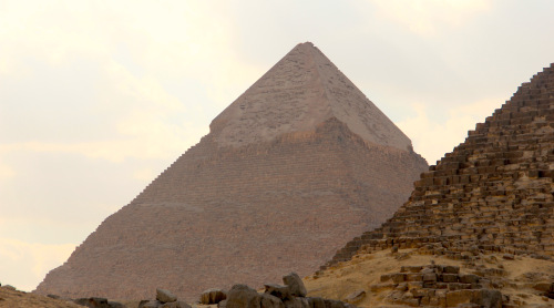 Khafre's Pyramid from the Eastern Necropolis. © Rory Gavin