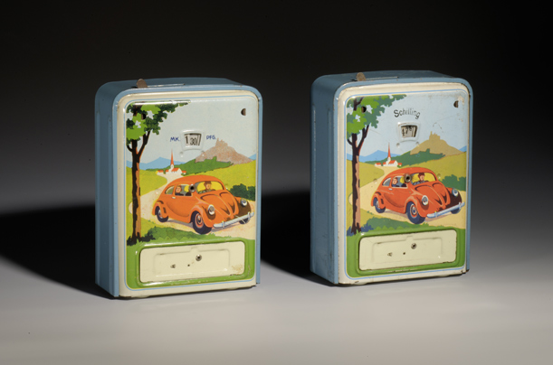 "Strength Through Joy Children would put their change in this money box for the Kraft-durch-Freude (""strength through joy"") car, which would later became the Volkswagen. There have been claims that an exhibit of this nature would attract neo-Nazis. A museum director, Hans Ottomeyer, told the BBC, ""We are not haunted by neo-Nazis, because we are a place of enlightenment. They don't read books, and they don't go to exhibitions."""