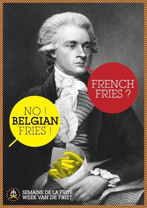 French fries? No, Belgian fries!