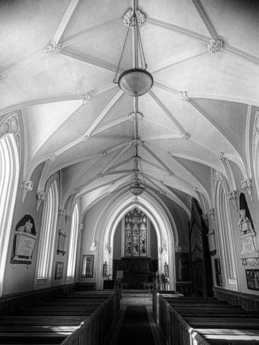 DSCN9820 St Paul's Church Cahir Tipperary sl bw 8x6
